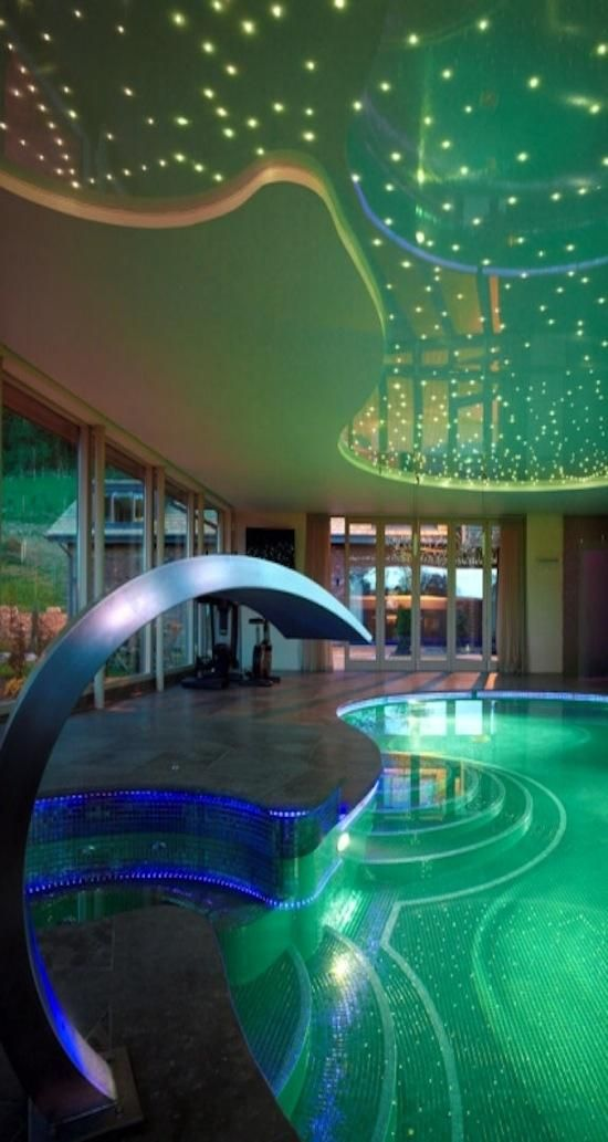 Indoor swimming pool luxus  57 besten Indoor Swimming Pools Bilder auf Pinterest | Hallenbäder ...