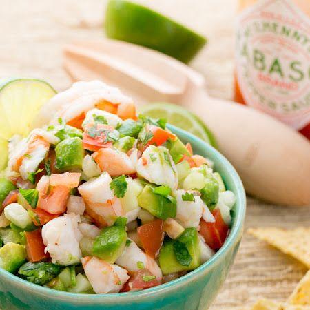Shrimp Avocado Salsa Recipe  Giveaway!