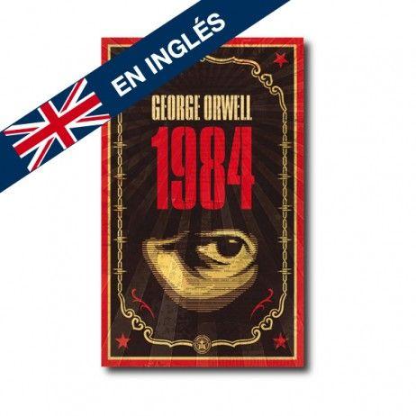 """""""1984"""" (George Orwell). Editorial: Penguin. Edad recomendada: A partir de 16 años."""