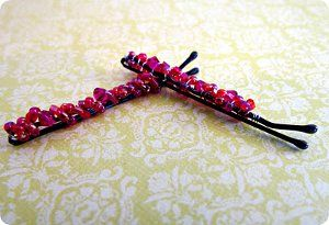 Hair Pins – Beaded Bobby Pins