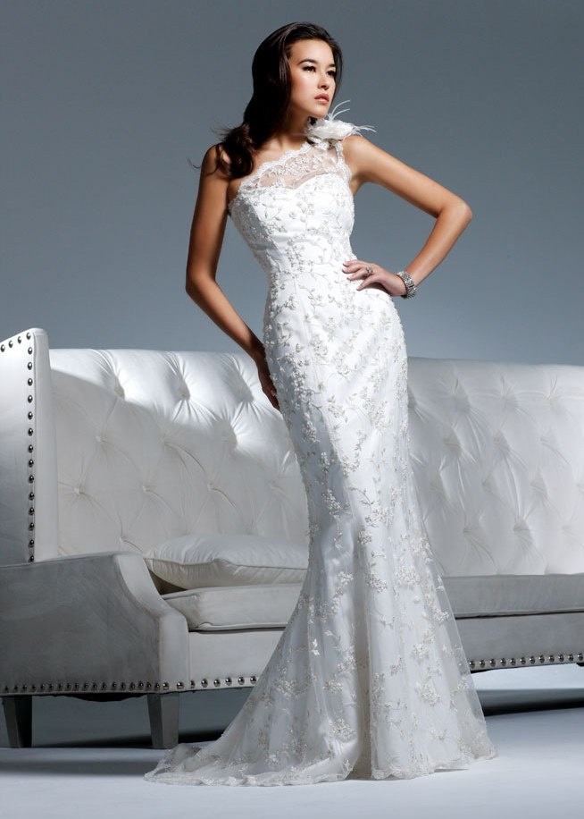 Nice David Tutera Wedding Dresses by Faviana Heidi If this was in silver or had silver accents it would be perfect for our anniversary this fall