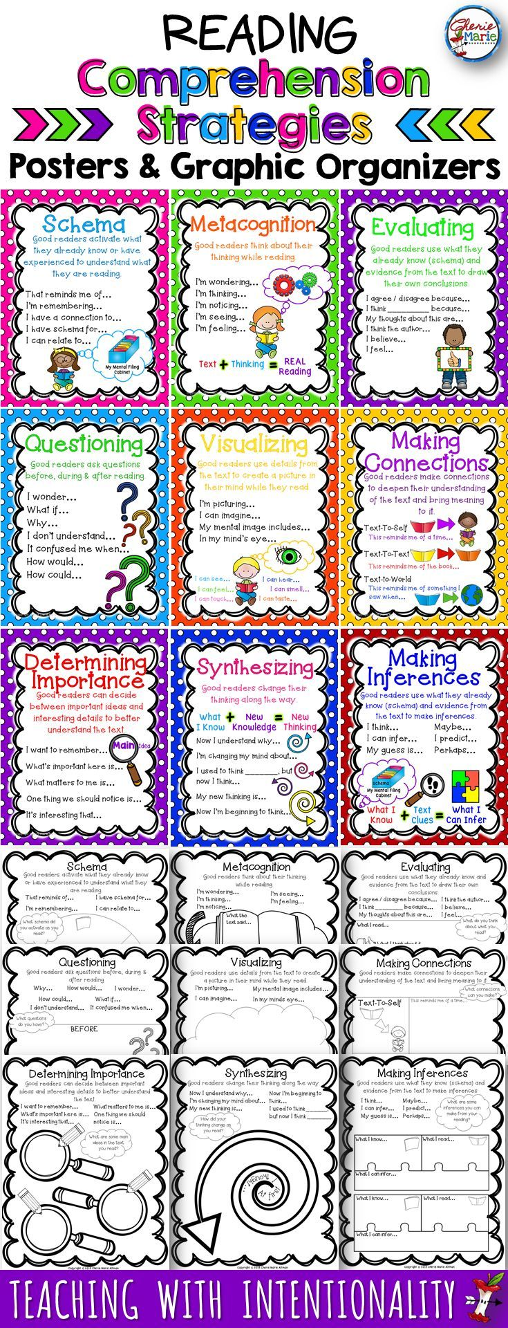 reading comprehension strategies that work Reading comprehension is a series of brain activities that need to take place automatically here are strategies to improve the steps to reading comprehension.
