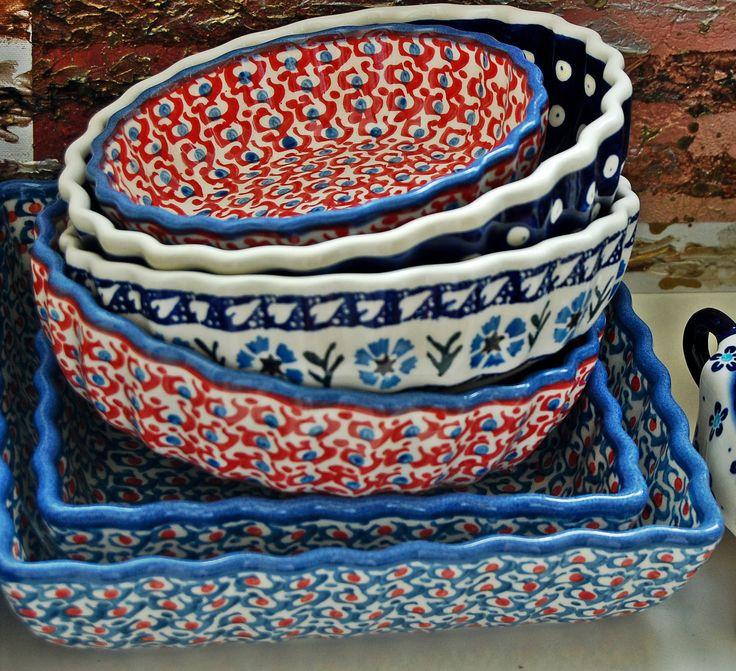 Формы для запекания. В коллекции Марокко цвета - дуалы. #посударучнойработы #керамикаручнойработы #посуда #ceramics #pottery #polishpottery  ceramic tableware   pottery   polish pottery   boleslawiec   посуда   керамическая посуда   польская керамика    польская посуда   болеславская керамика   керамика