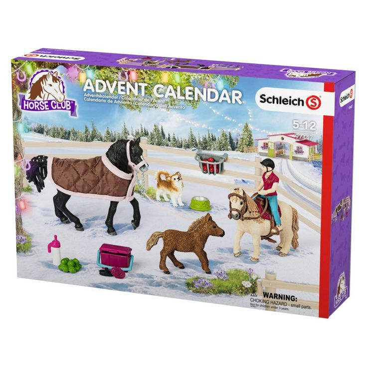 Schleich Horse Club 2017 Advent Calendar Playset,