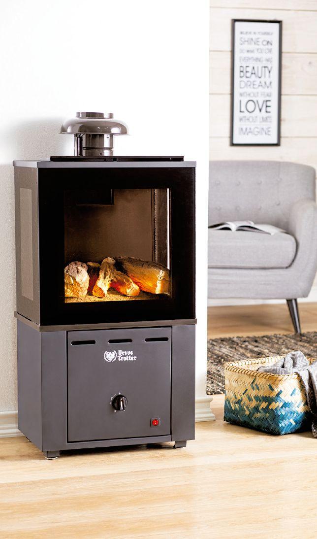 Los calefactores a gas, no emiten CO2 al interior de tu casa. #TiendaEasy #Invierno #Calefacción #Gas