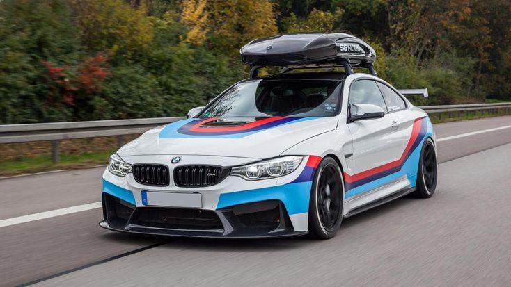 BMW M4R met koolstofvezel dakkoffer - http://www.topgear.nl/autonieuws/bmw-m4r/