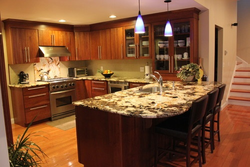 U Shaped Kitchen With Peninsula Design Pictures Remodel