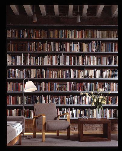 wall o books