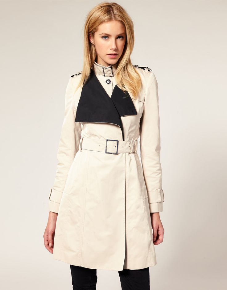 Karen Millen Tailored Mac coat