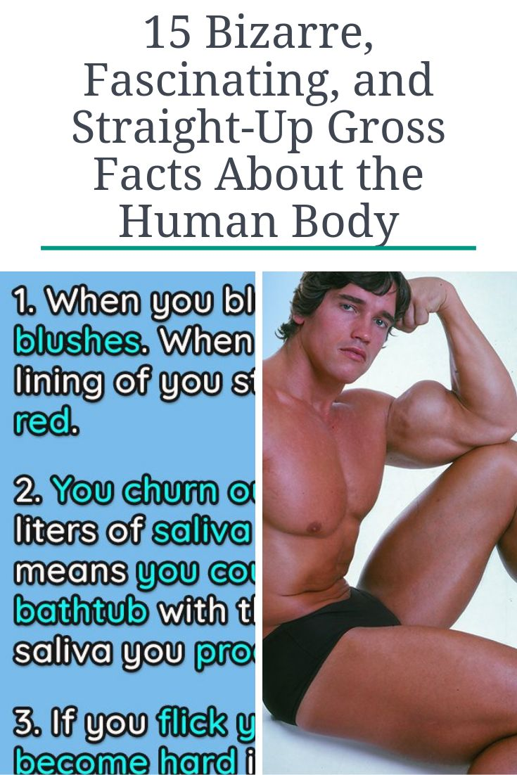 15 Bizarre, Fascinating, and Straight-Up Gross Facts About the Human Body