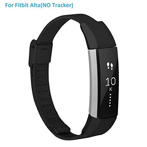 CreateGreat Replacement Accessory Metal Band For Fitbit A... https://www