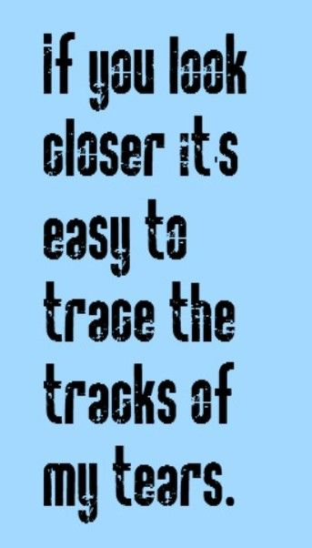 Smokey Robinson - Tracks of my Tears - song lyrics, music lyrics, song quotes