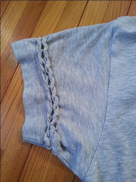 Tシャツリメイクでオリジナルを作る!フリンジや袖・首回りのカット方法のまとめのサムネイル画像