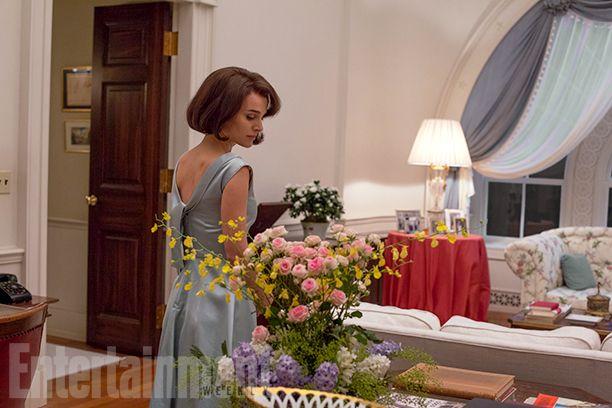Immagini esclusive dal set di Jackie con Natalie Portman