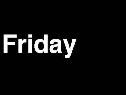 Friday Rebecca Black by Runforthecube No Autotune Cover Song Parody Lyrics