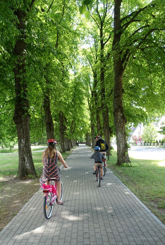 #Cycling in #Pärnu, #Estonia.