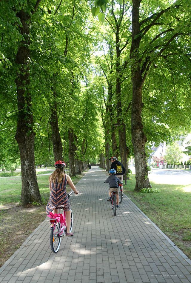 #Cycling in #Pärnu, #Estonia.