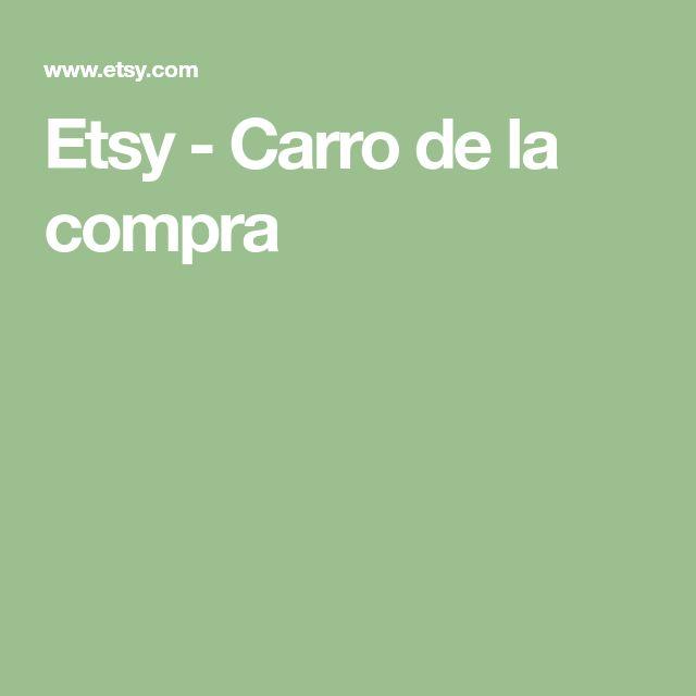 Etsy - Carro de la compra
