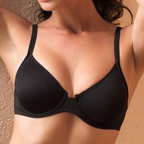 ~ mode pure noir ~ Lise Charmel #lingerie #charmel #simple #basic #black