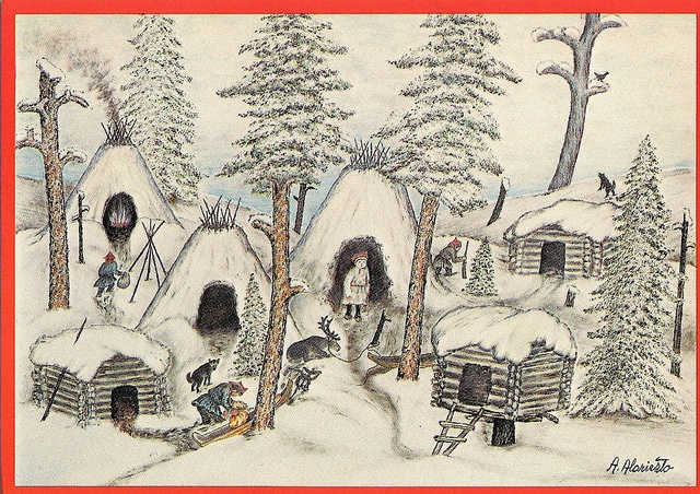 Alariesto, Andreas - Lapinkylä talvitunnelmissa