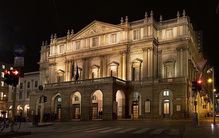 Оперный театр Ла Скала, Милан, Италия