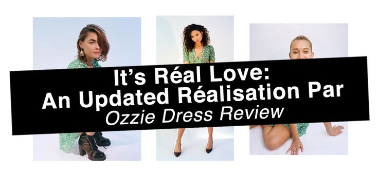 I just got the new Realisation Par Ozzie dress in Poison Ivy. It. Is. Amazing.