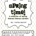 A collection of spring literacy themed activities! This packet includes:  * Silly Synonym Matching   * Compound Word Matching  *Spring Time Syllable S...