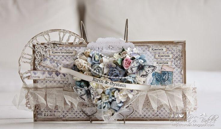 Konvoluttkort til brudeparet ♥