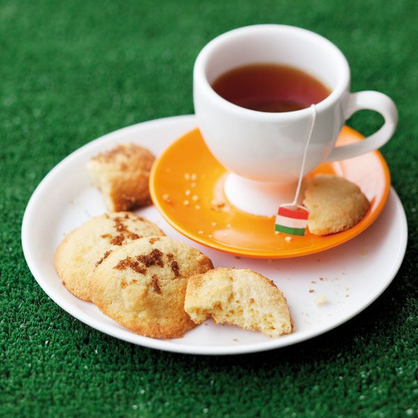 Maize meal biscuits,delicious with a cup of tea. COTE D'IVOIRE