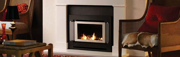 Rinnai Sapphire Masonry - With gentle flickering flames and cosy warmth, our Sapphire Gas Log Fire gives you all the appeal of an open fire, but without all the bother that goes with it. And if it's instant ambience wasn't enough, the Sapphire's 4.1 Star clean burning technology makes it a very cost effective way of heating your home. #Heating #GasHeating #Inbuilt #Rinnai #HearthHouse