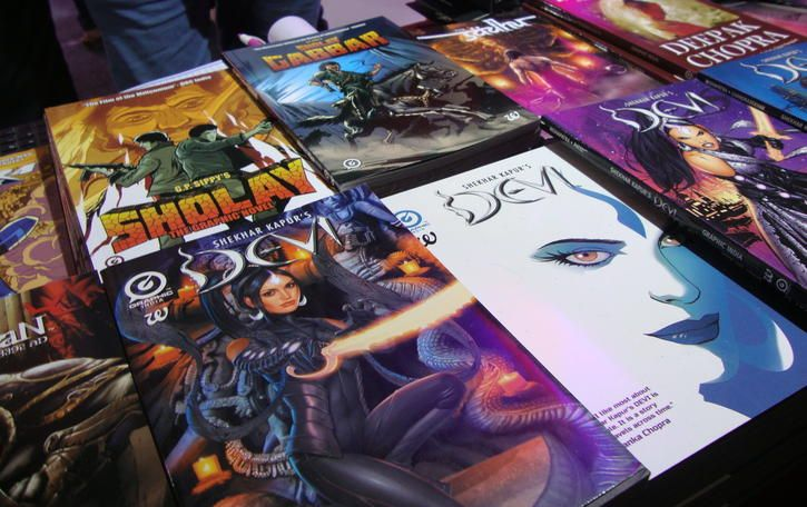 9 Indian Comics We Found At Comic Con With Mythology, Sci-Fi, Humour And More