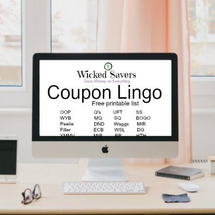 Coupon Lingo. Learn all of the terms to start speaking coupon. This list has a free printable version and includes the abbreviations used on FB.