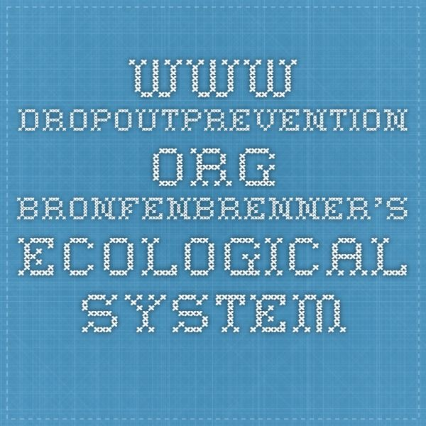 "bio ecological systems theory The ecological systems theory was originated by the famous urie bronfenbrenner, who believed that children developed within a complexshow more content he stated that ""resources hazards, life styles, opportunity structures, life course options and patterns of social interchange"" (bronfenbrenner, 1993."