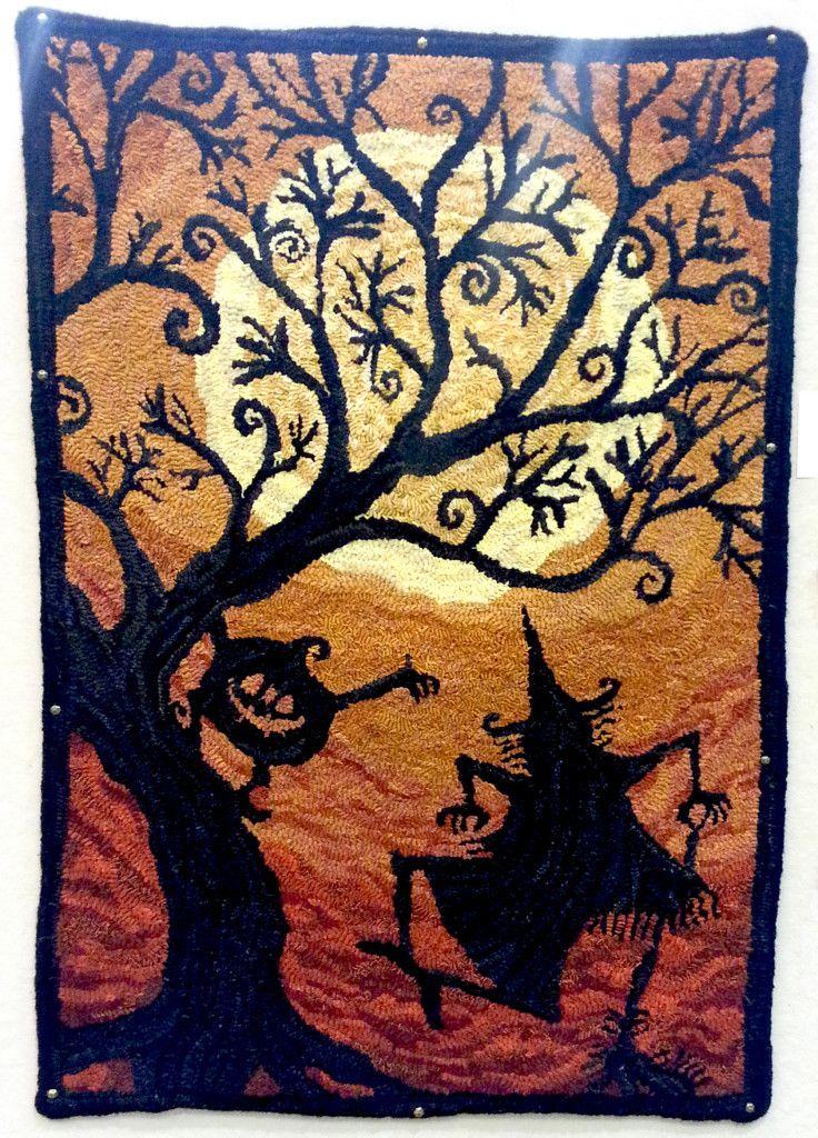 an impish delightul halloween rug - Halloween Rugs