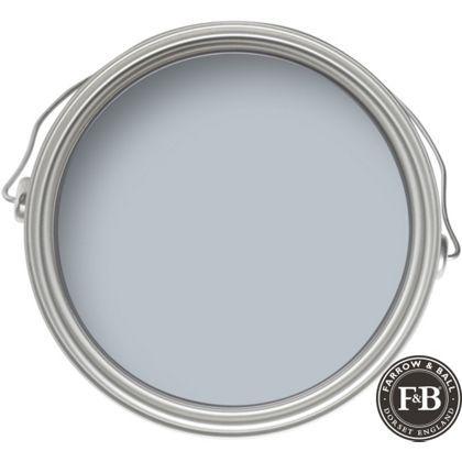 Farrow & Ball No.27 Parma Gray - Masonry Paint - 5L Available from Homebase