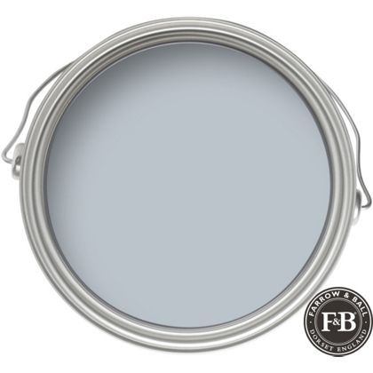 Farrow & Ball No.27 Parma Gray - Masonry Paint - 5L Available from Homebase