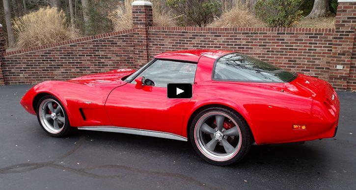 Stunning 1979 Corvette Custom 350 V8 Crate Motor