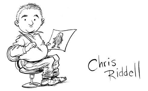 Chris Riddell ♥ you frikken rock!