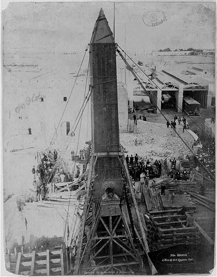 Packing up Cleopatra's Needle in Egypt to ship to Central Park (via Cleopatra's Needle In Central Park Article with Pics)