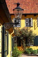 Idyllischer Hof in Lübeck