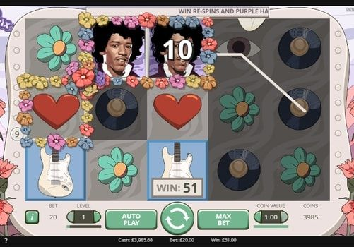 Играть в автомат с выводом реальных денег Jimi Hendrix. Стоит ли рассказывать ценителям рок-музыки о том, кто такой Джимми Хендрикс, который стал главным героем нового игрового автомата от NetEnt? Но даже если вы не являетесь поклонником этого легендарного музыканта, но