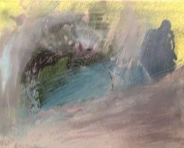 "Saatchi Art Artist Dan Caissie; Painting, ""Travelling Bluesman"" #art"