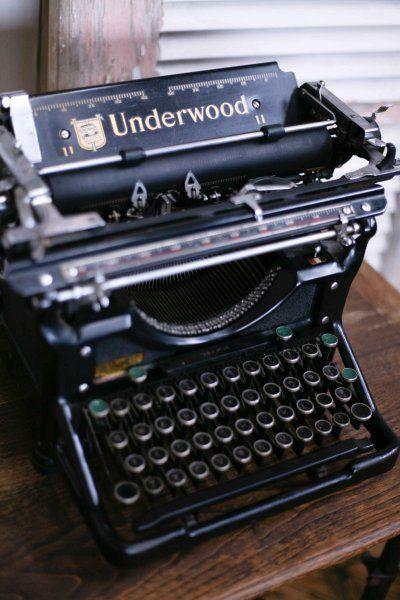 1920's Typewriter
