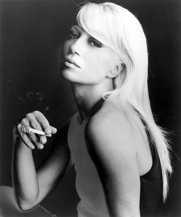 Donatella Versace | When They Were Young | Hint Fashion Magazine