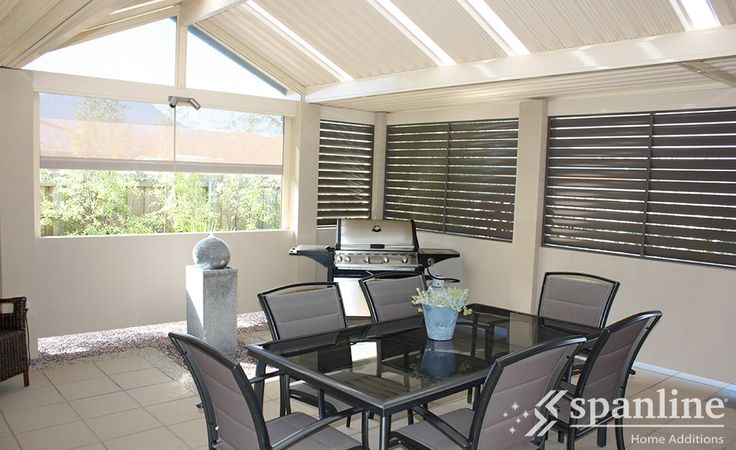 Create your very own outdoor retreat with a Spanline Patio or Verandah.