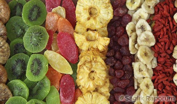 Lifli kuru meyvelerin yararları
