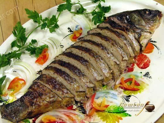Фаршированная рыба, гефилте фиш