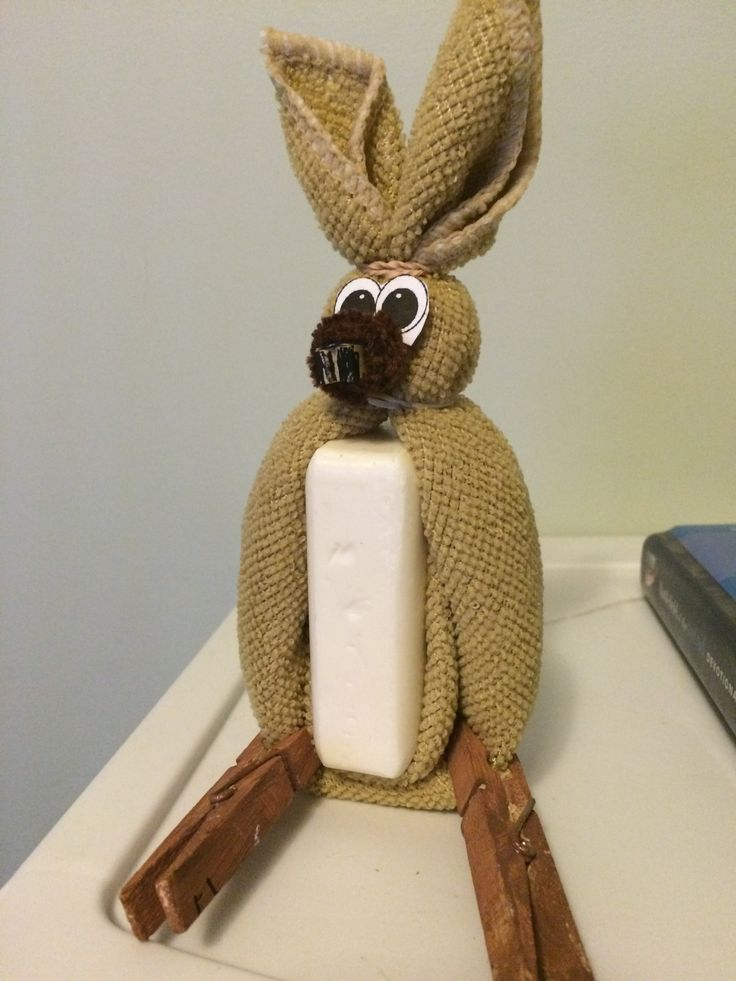 Washeroo VBS Project with a Purpose. Kangaroo made from a wash cloth, for Outback Rock VBS