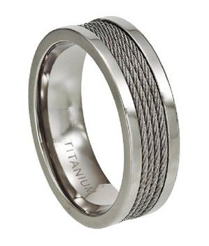 love this male wedding band three cord string is not easily broken