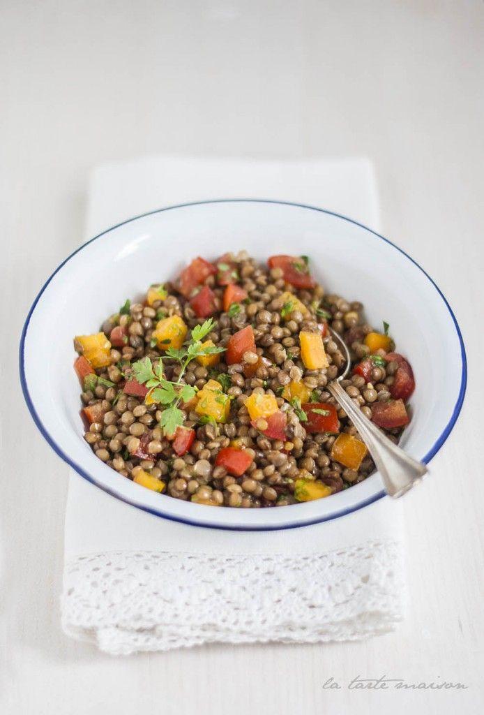 Insalata tiepida di lenticchie | La tarte maison